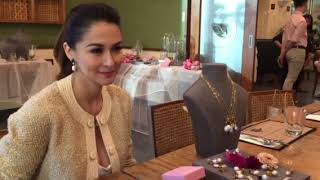Latest interview of Marian Rivera on her collab with Kultura Filipijna pearls,  Zia' s bday plans &