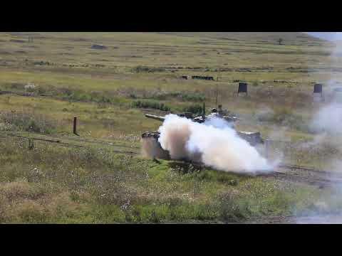 Учебные стрельбы танкистов