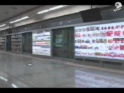 Tesco Homeplus Virtual Subway Store in South Korea