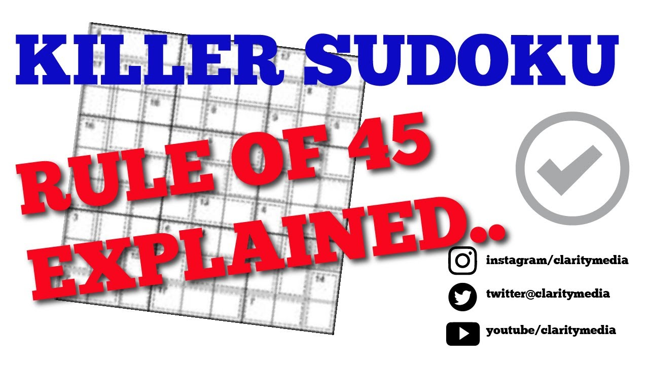 About Killer Sudoku Puzzles