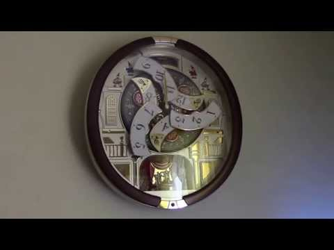Seiko Collectors Edition clock Model #: QXM554BRH from Sams Club