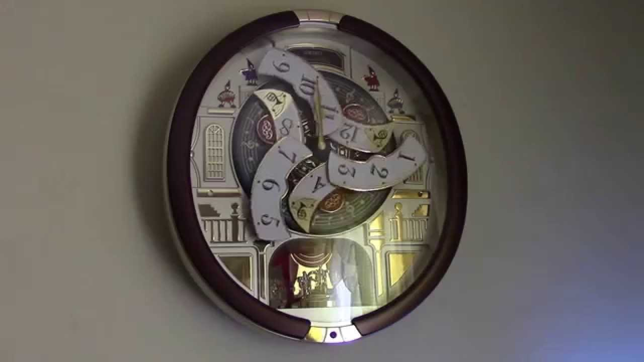Seiko collectors edition clock model qxm554brh from sams club seiko collectors edition clock model qxm554brh from sams club youtube amipublicfo Images