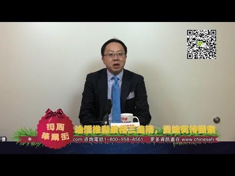 Warren 12/25/15 油價推動股指三連陽,量縮有待觀察