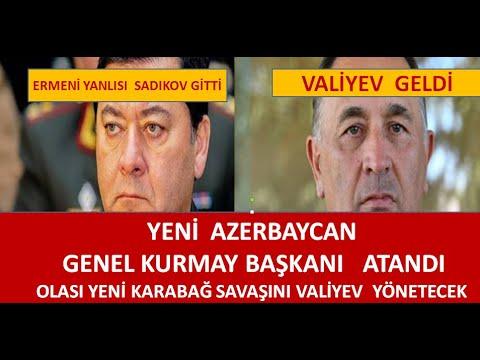 AZERBAYCANIN YENİ GENEL