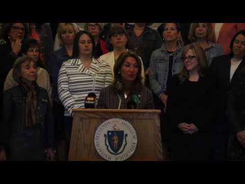 Lt. Governor Polito raises awareness about sexual assault on Denim Day