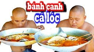 🥣Nấu Bánh Canh Cá Lóc Rút Xương Siêu Cay Quyết Tâm Hạ Gục Thánh Ăn Đầu Trọc | Sơn Dược Vlogs #526
