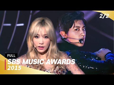 [FULL] SBS Music Awards 2015 (2/2) | 20151227 | EXO, SHINee, Girls Generation, Red Velvet, TWICE