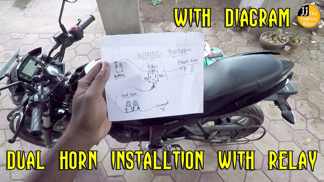 How To Install Dual Horn With Relay