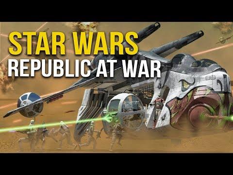 STAR WARS REPUBLIC AT WAR! Ep 2 - LARGEST BATTLE!