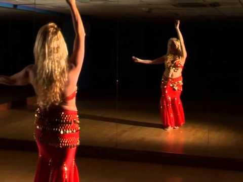 Shakira belly dance learn combo 2 - YouTube