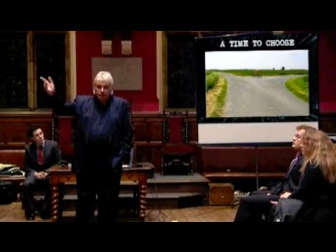 David Icke's Lecture at The Oxford Union Debating Society