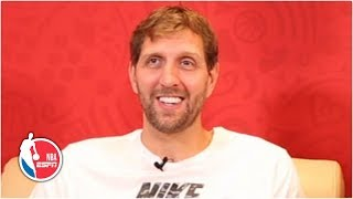 Dirk Nowtizki is enjoying being retired and eating ice cream | NBA on ESPN