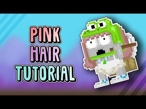 Growtopia: PINK HAIR IN GT?!