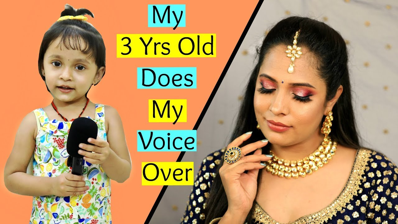 My Daughter Does My VoiceOver - Indian Party Makeup | Shruti Arjun Anand