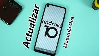 Actualizar Android 10 Oficial todos los Motorola one | Tecnocat