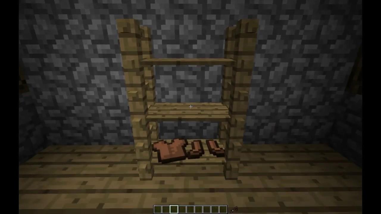 новые предметы декора в Minecraft без модов