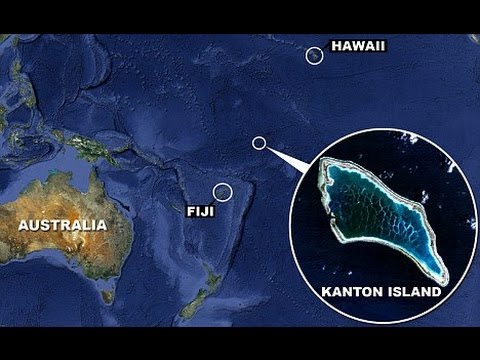 Canton (Kanton) atoll. Kiribati