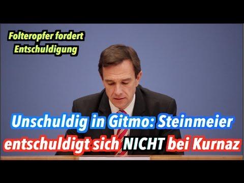 Steinmeier wird sich nicht bei Murat Kurnaz für Guantanamo entschuldigen