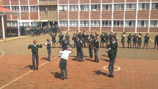 Vryheid High School 11VT Flash mob