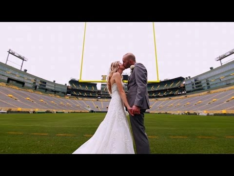 Why Couples Are Getting Married At The Legendary Lambeau Field