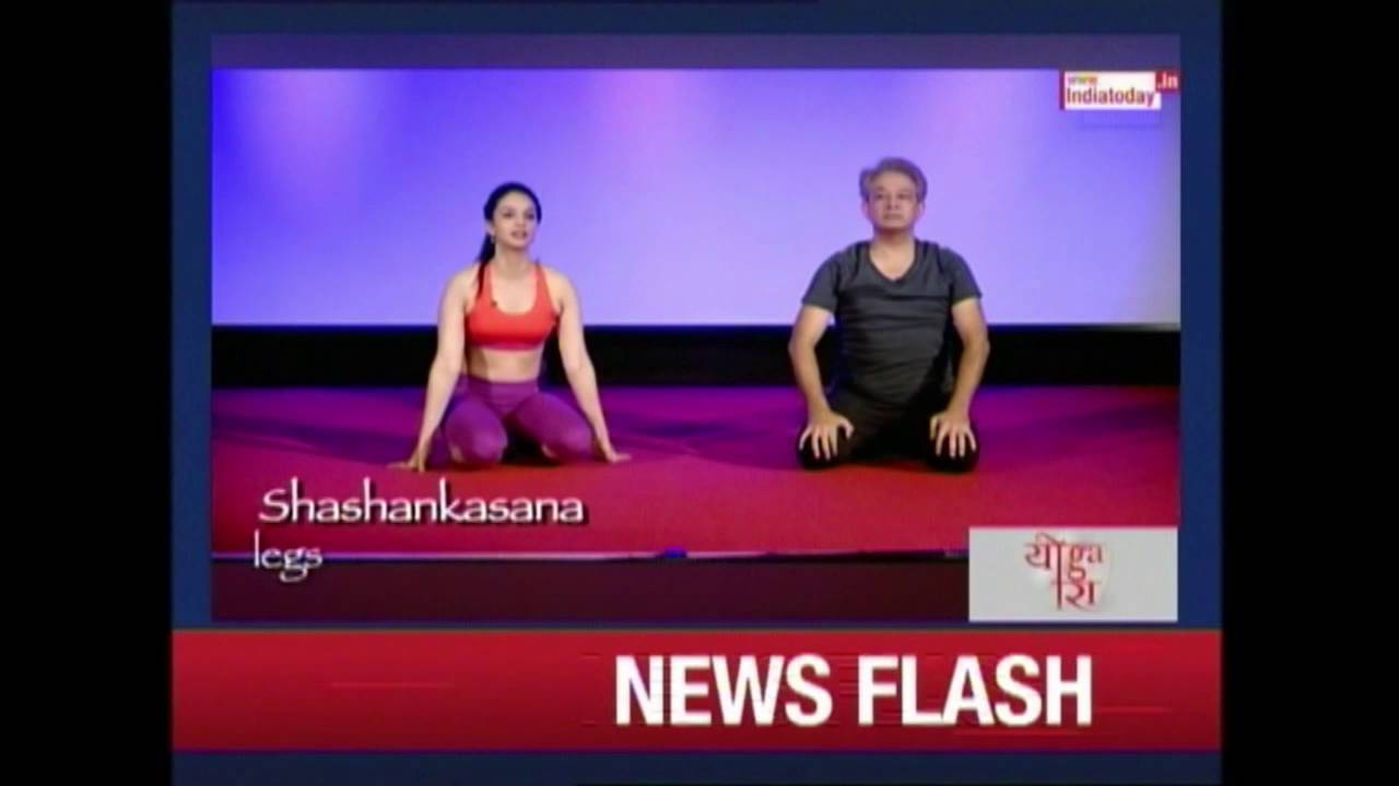 Yoga Ira : Yoga For Hair With Javed Habib & Ira Trivedi