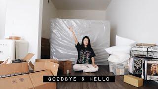 📦MOVING VLOG | decluttering, furniture shopping, etc...