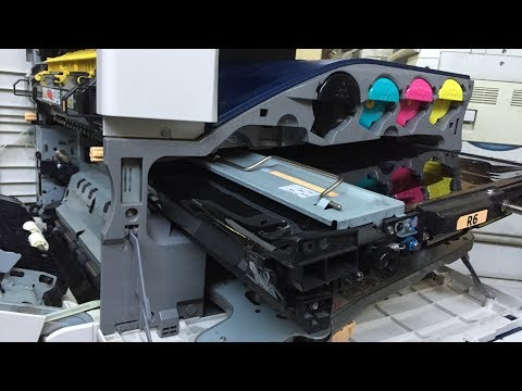Xerox workcentre Intermediate Transfer  belt cleaning | xerox workcentre 7132 ITB unite cleaner