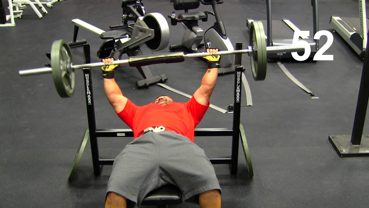 Record Bench Part - 16: NFL Combine Bench Press Record - YouTube