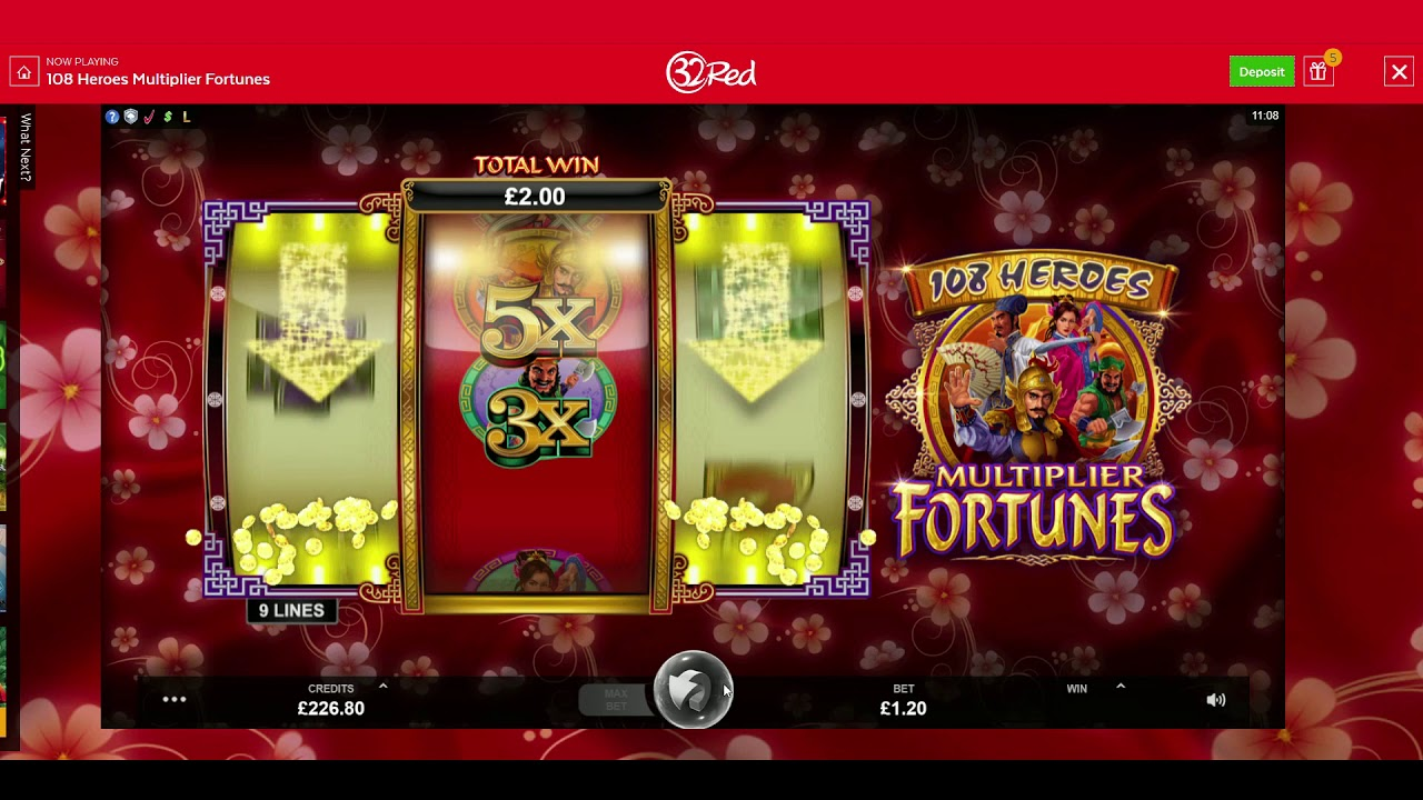 Spiele 108 Heroes Multiplier Fortunes - Video Slots Online