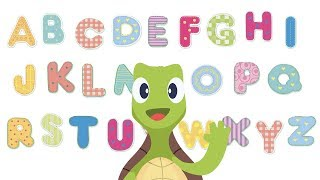 ABC SONG & LETTERS | Learning the ABC's with Turtle Todd