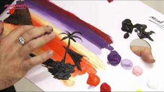 Art Lesson: Speed Finger Paintings by Mont Marte