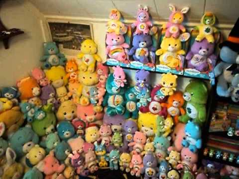 my updated care bears collection youtube. Black Bedroom Furniture Sets. Home Design Ideas
