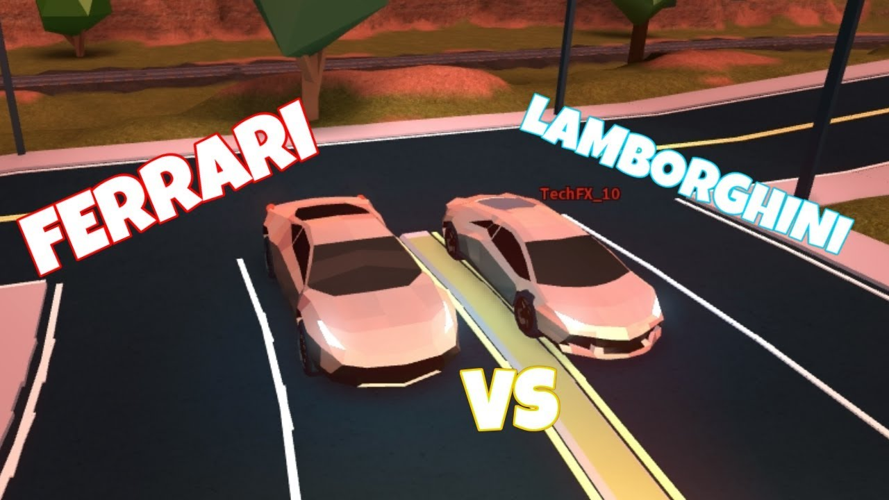 how to drive the lambo in jailbreak for free