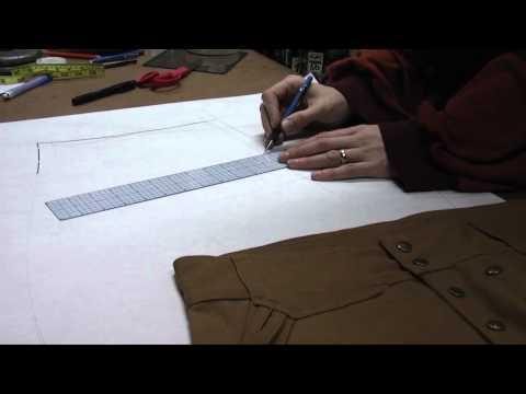 Pattern Drafting Tutorial - Custom Steeplejacks