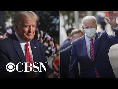 Trump and Biden prepare for final presidential debate
