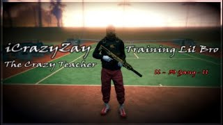 Gambar cover GTA 5 Online - The Crazy Teacher iCrazyZay Training Lil Brother