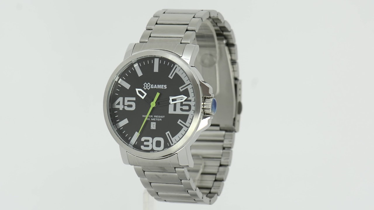 b8e3b5f7ebe Relógio X-Games Masculino XMSS1035 P2SX - Eclock - YouTube