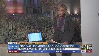 Wells Fargo hiring 900 at Phoenix job fair