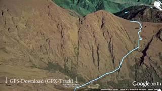 Inka-Pfad nach Machu Picchu | Inca-Trail | Trekking Südamerika Cusco | GPS-Track