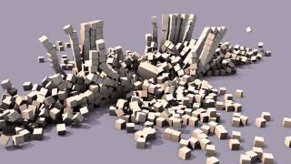 Blender 3D physics engine animation
