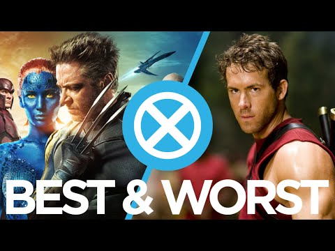 The Best & Worst X-Men Movies Ranked : Movie Feuds ep128