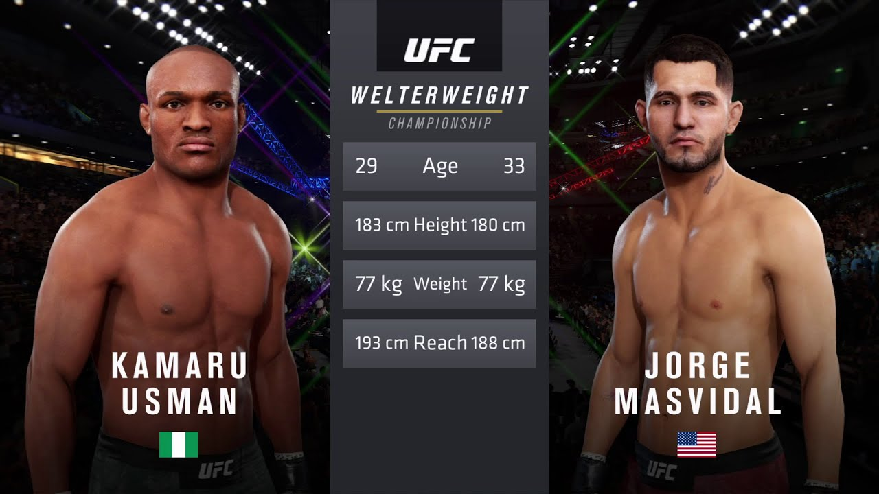 Ufc 251 Usman Vs Masvidal Ufc Welterweight Title Match Cpu Prediction Youtube