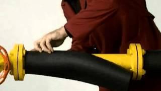Изоляция прямых участков трубы(Компания