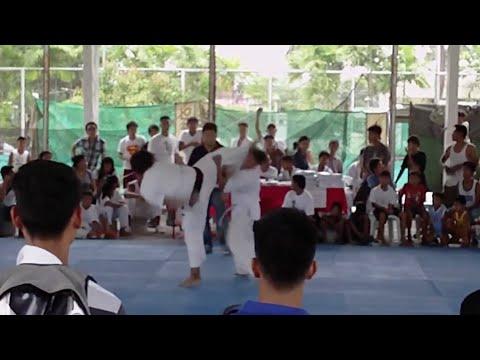 Taekwondo Blackbelt vs Kyokushin Whitebelt