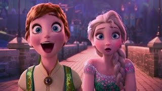 Frozen Fever - Official Trailer (2015) Disney Animated Movie