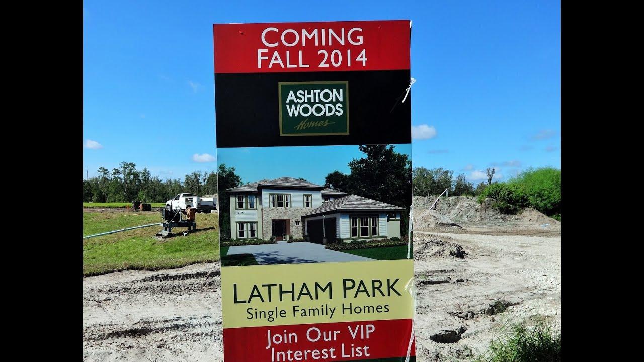 latham park by ashton woods in winter garden youtube