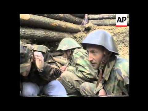 BOSNIA: FIGHTING INTENSIFIES
