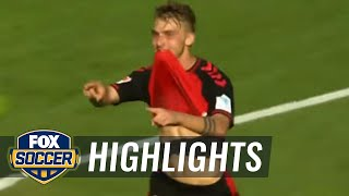 Video Gol Pertandingan Freiburg vs Borussia Monchengladbach