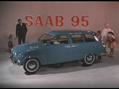 """Saab TV-reklam från 1961 - """"Saab 95 - Konturen"""""""