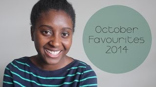 October Favourites 2014 Thumbnail
